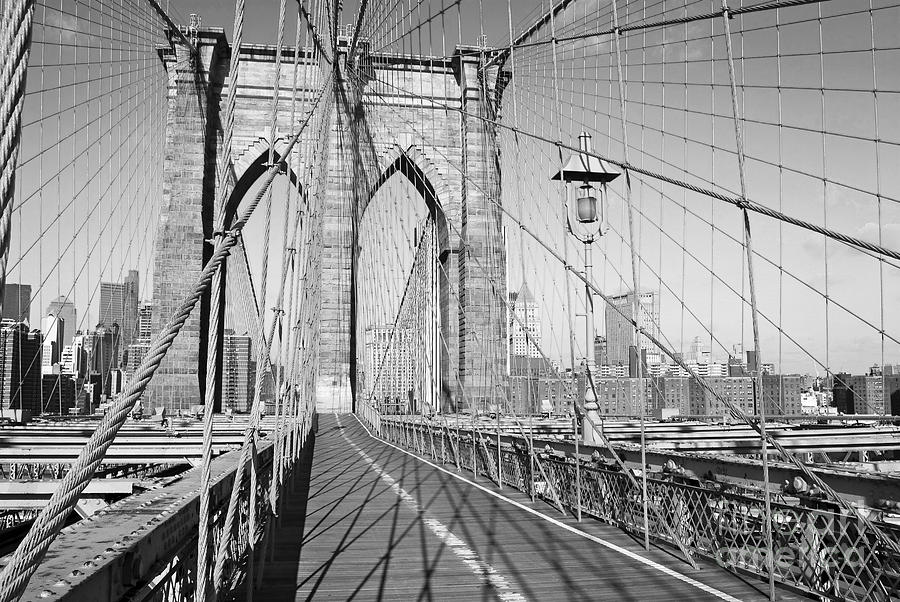 Brooklyn Bridge Deck Photograph