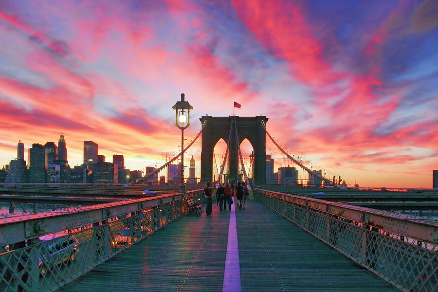 Brooklyn Sunset Photograph  - Brooklyn Sunset Fine Art Print