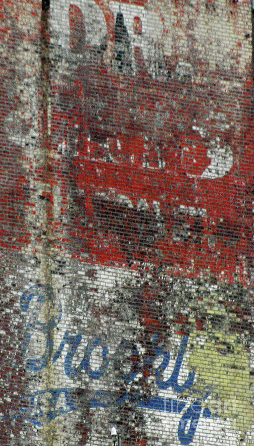 Brooklyn Walls Photograph  - Brooklyn Walls Fine Art Print