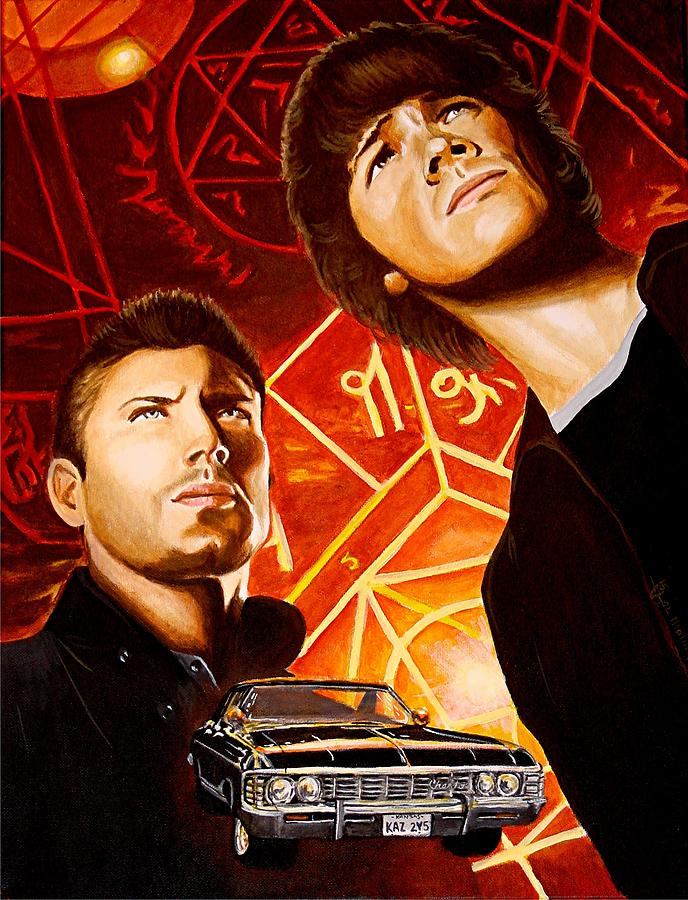 Brothers Winchester Painting