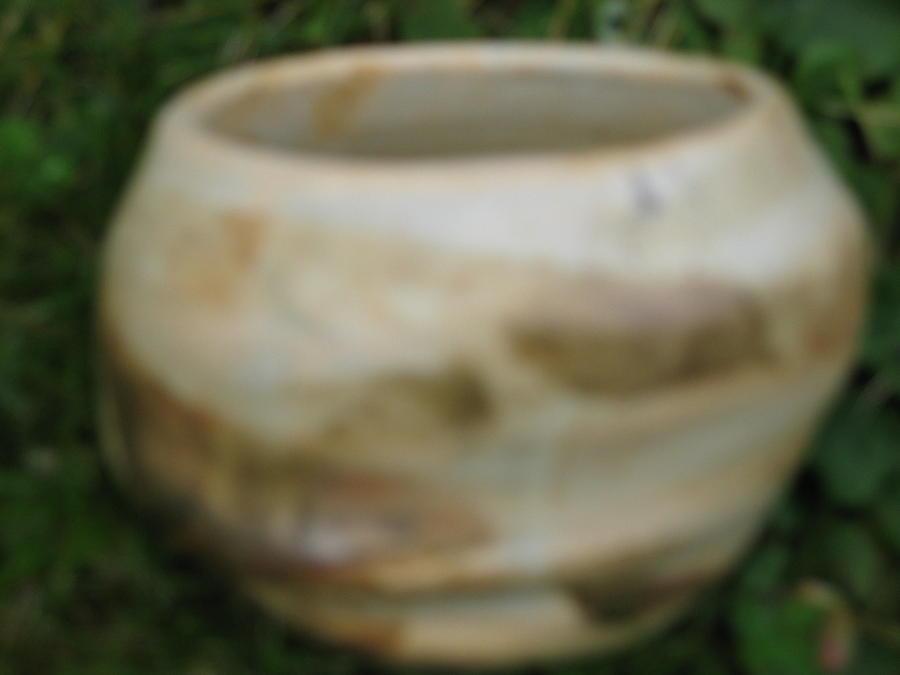 Brown Altered-form Vessel  Ceramic Art