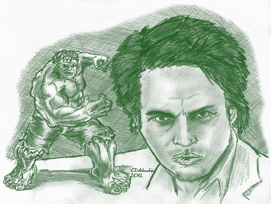 Bruce Banner Hulk Drawing