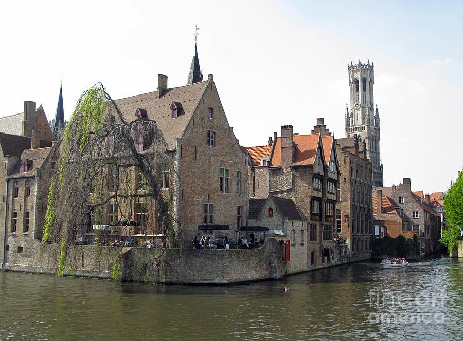 Brugge Photograph - Brugge. Belgium. Spring 2011 by Ausra Huntington nee Paulauskaite