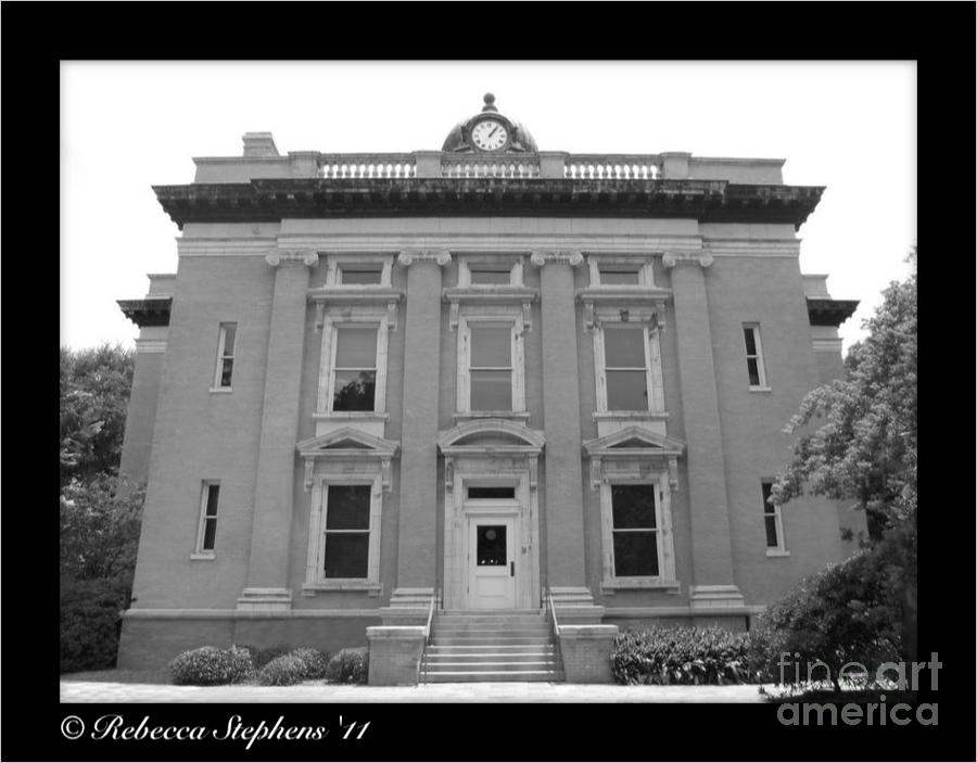 Brunswick Historical Court House Photograph