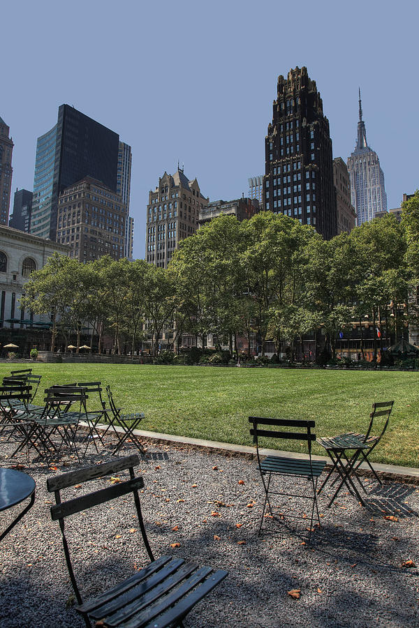 Bryant Park New York Photograph