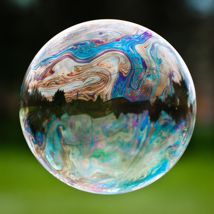 Bubble Photograph  - Bubble Fine Art Print