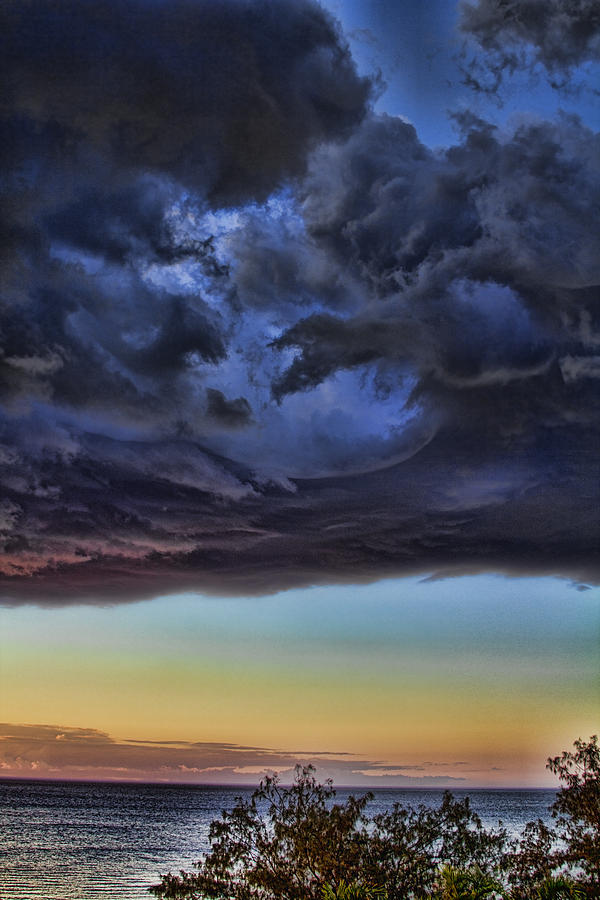 Bubble Cloud Photograph