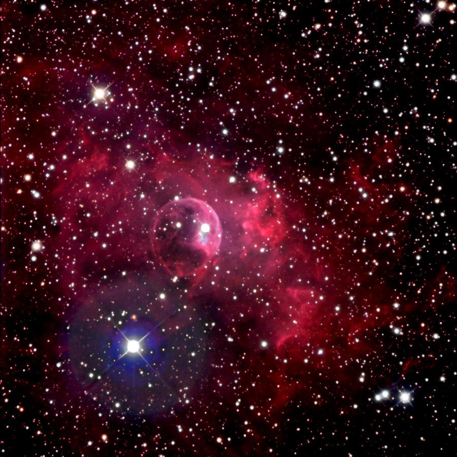 Bubble Nebula Photograph