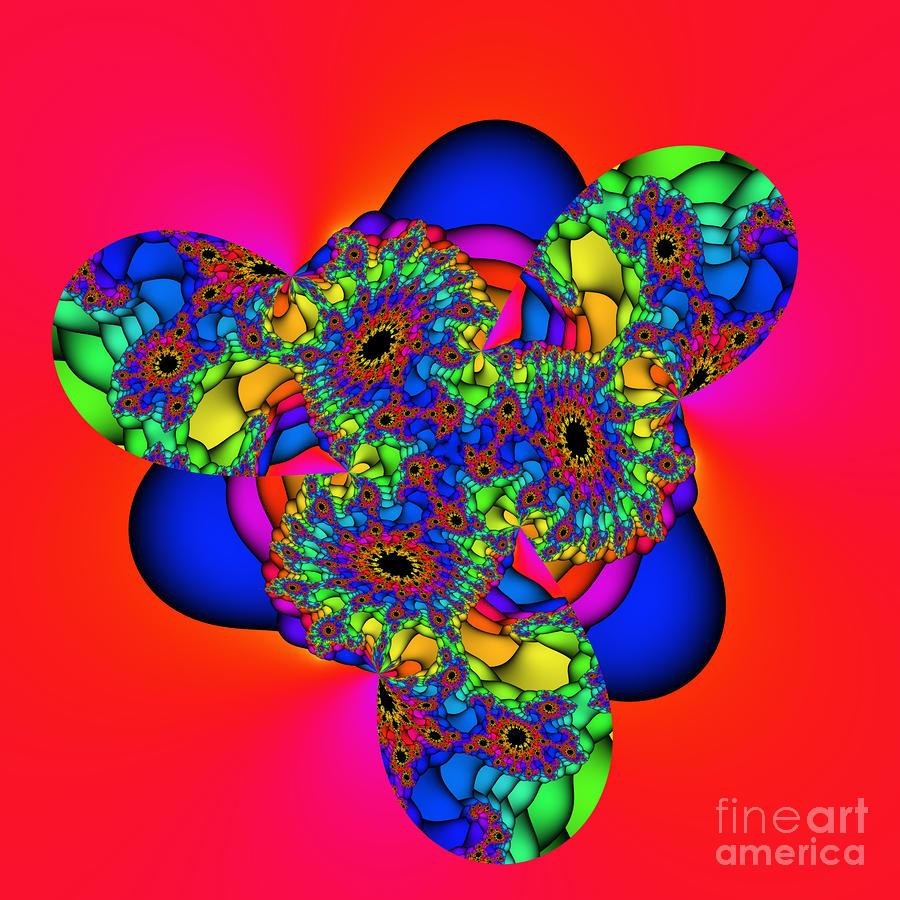 Bubbles 02a Digital Art