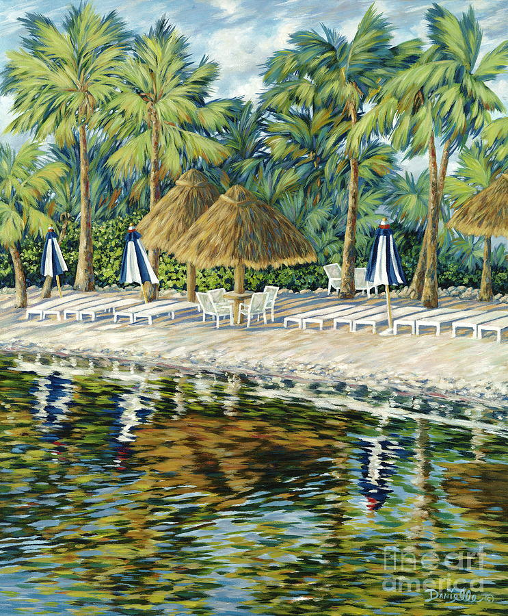 Buccaneer Island Painting
