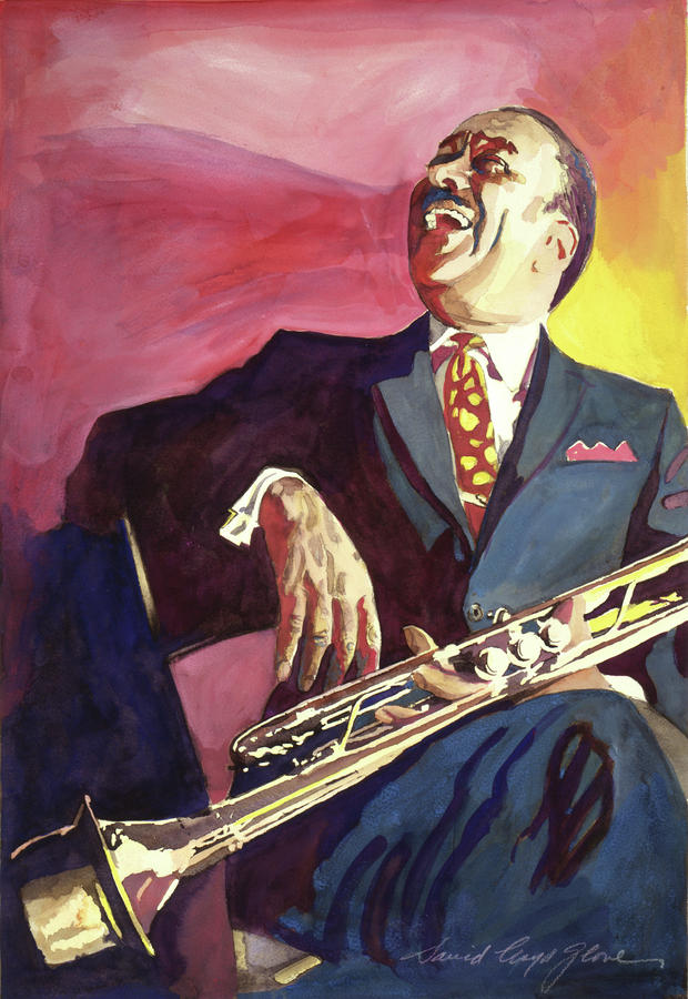 Buck Clayton Jazz Trumpet Painting