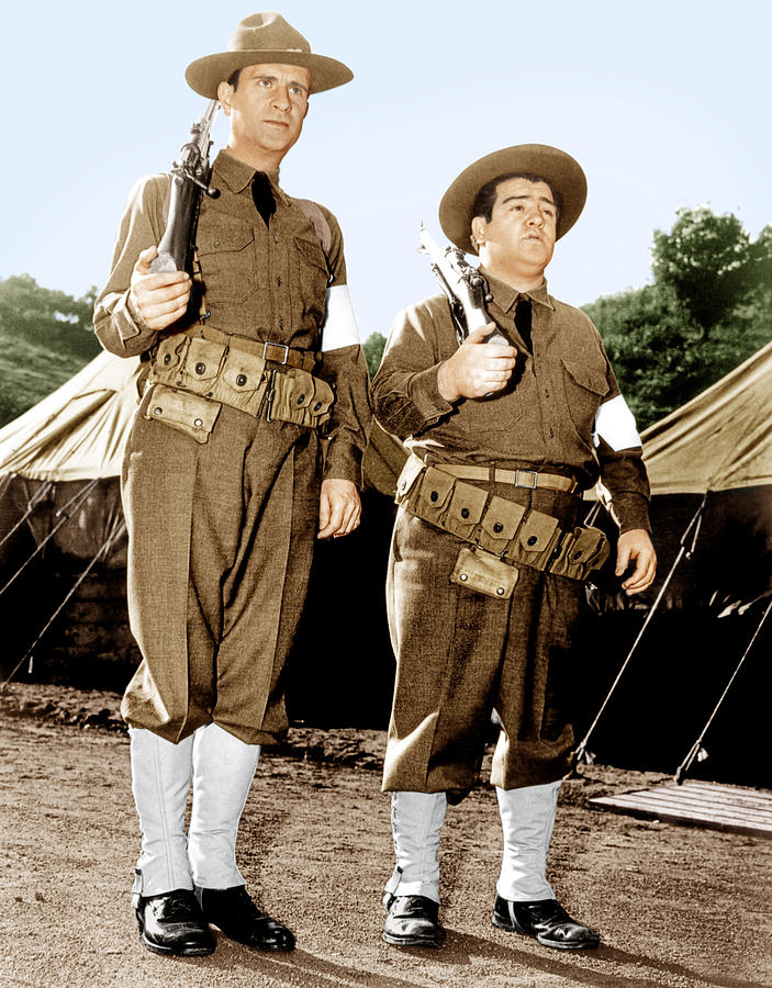 Buck Privates, From Left Bud Abbott Photograph