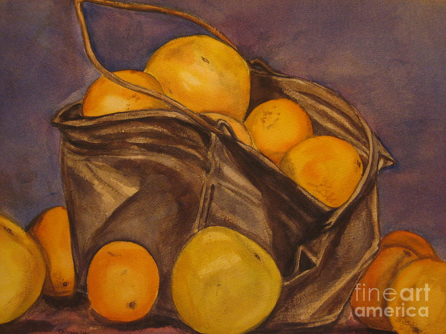 Bucket Of Goodness Painting  - Bucket Of Goodness Fine Art Print