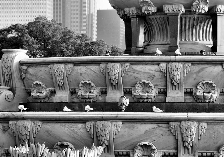 Buckingham Fountain - 5 Photograph  - Buckingham Fountain - 5 Fine Art Print