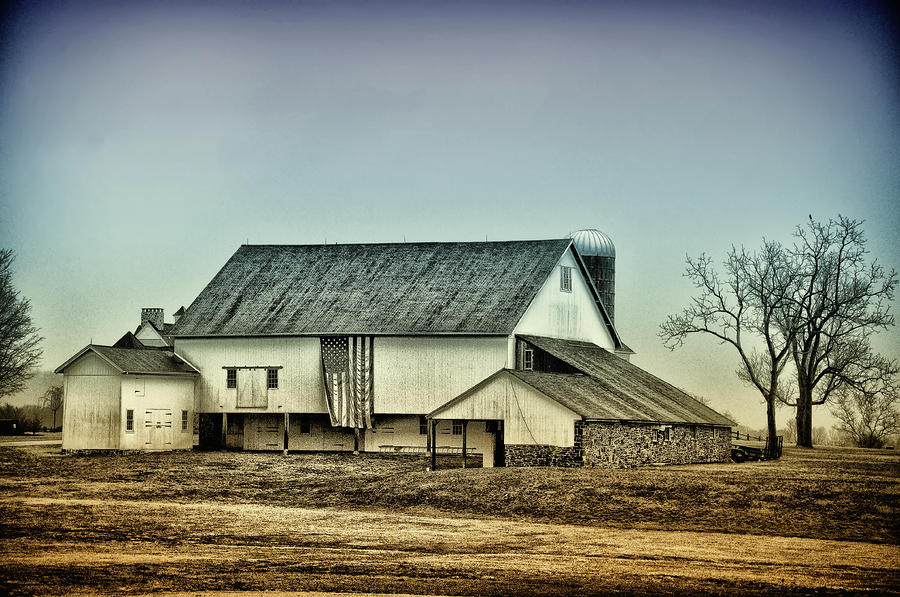 Bucks County Farm Photograph