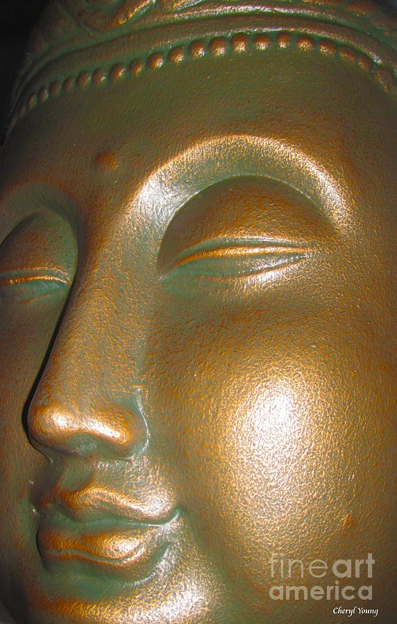 Buddha Photograph - Buddha 25 by Cheryl Young