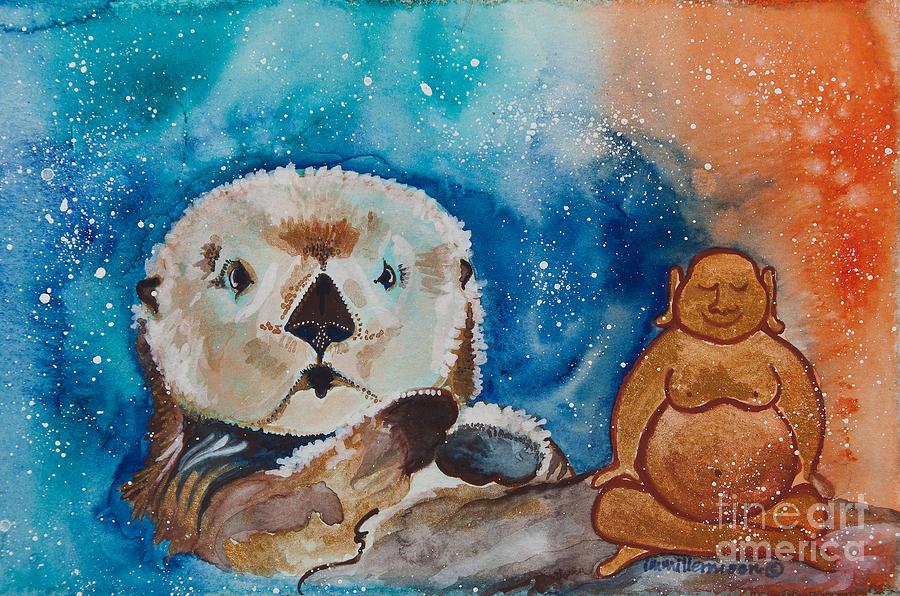 buddha-and-divine-otter-ilisa-m-millermo