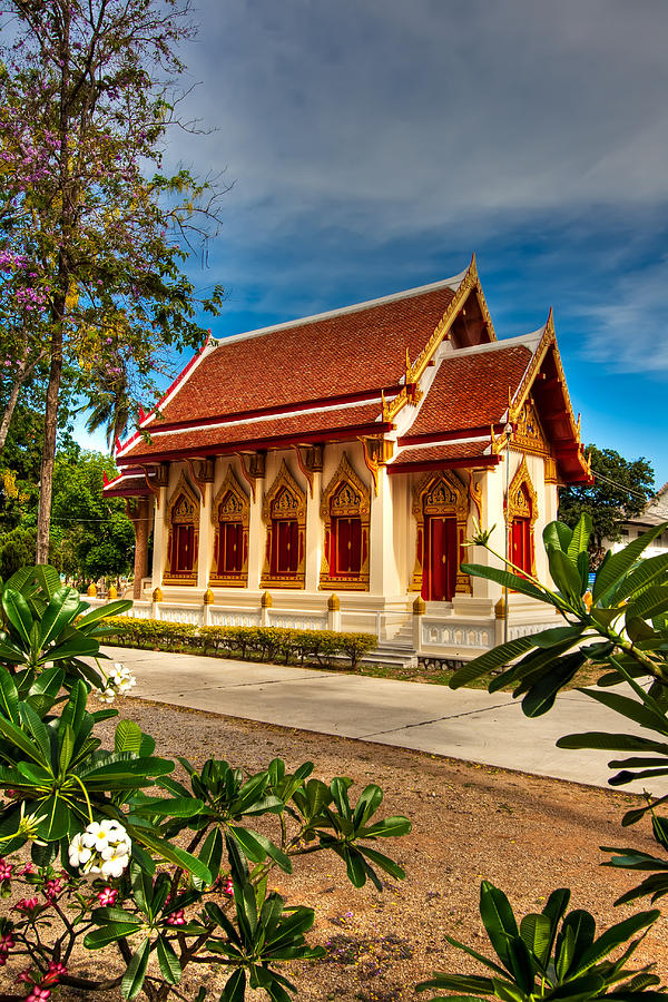 Buddhist Temple Photograph  - Buddhist Temple Fine Art Print