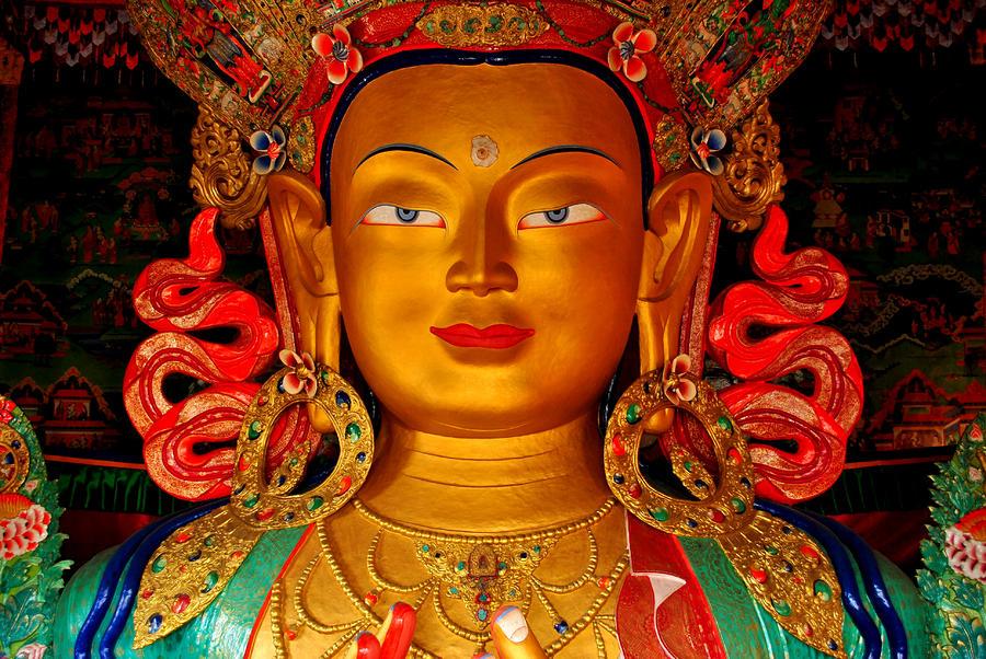 Photograph - Budha by Saira Ks