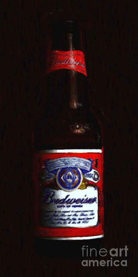 Budweiser - King Of Beers Photograph  - Budweiser - King Of Beers Fine Art Print