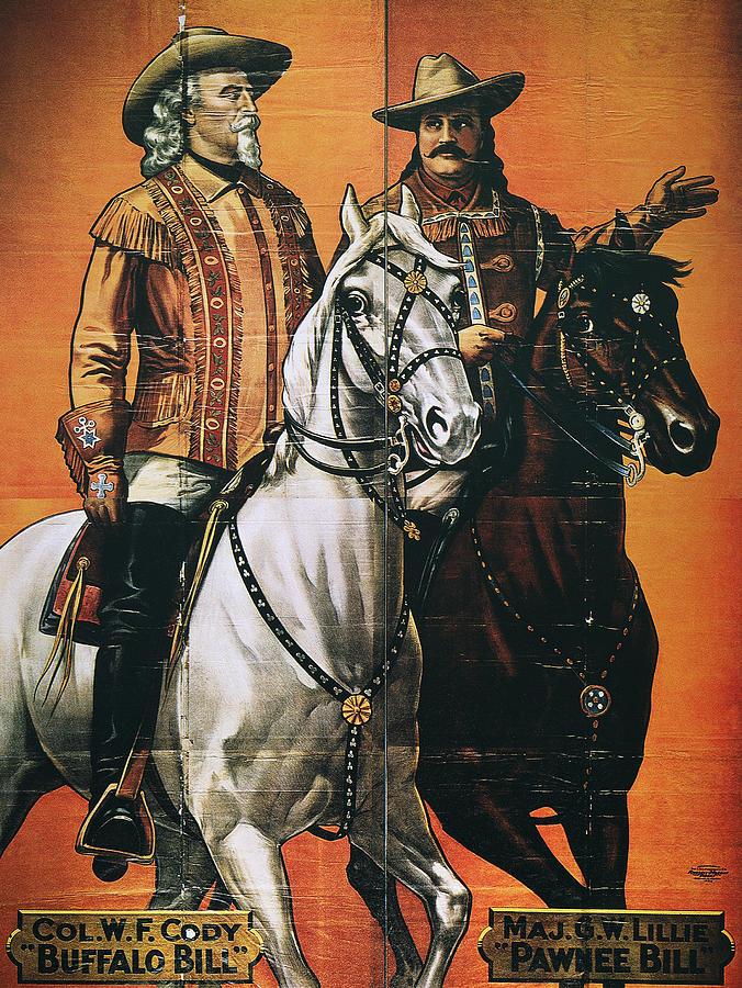 Buffalo Bill: Poster, 1910 Photograph