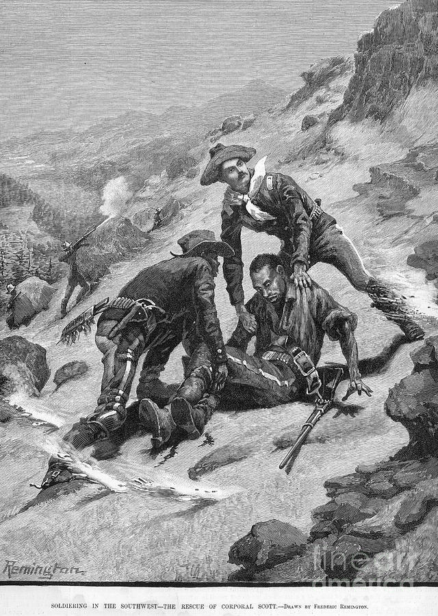 Buffalo Soldier, 1886 Photograph
