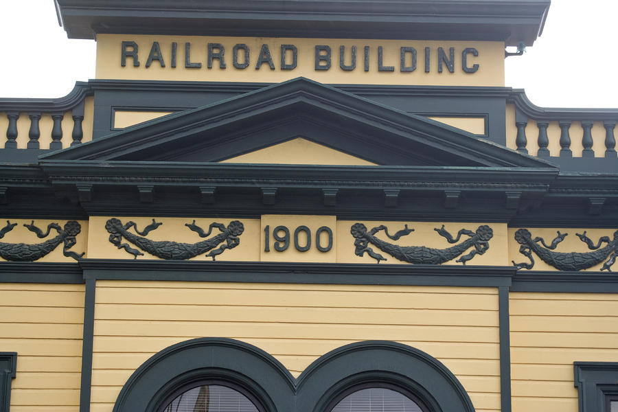 Building At Klondike Gold Rush National Photograph
