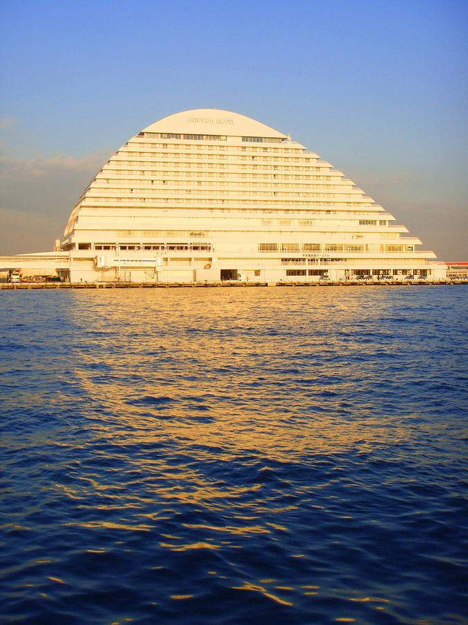 Building At Kobe Harbor Photograph