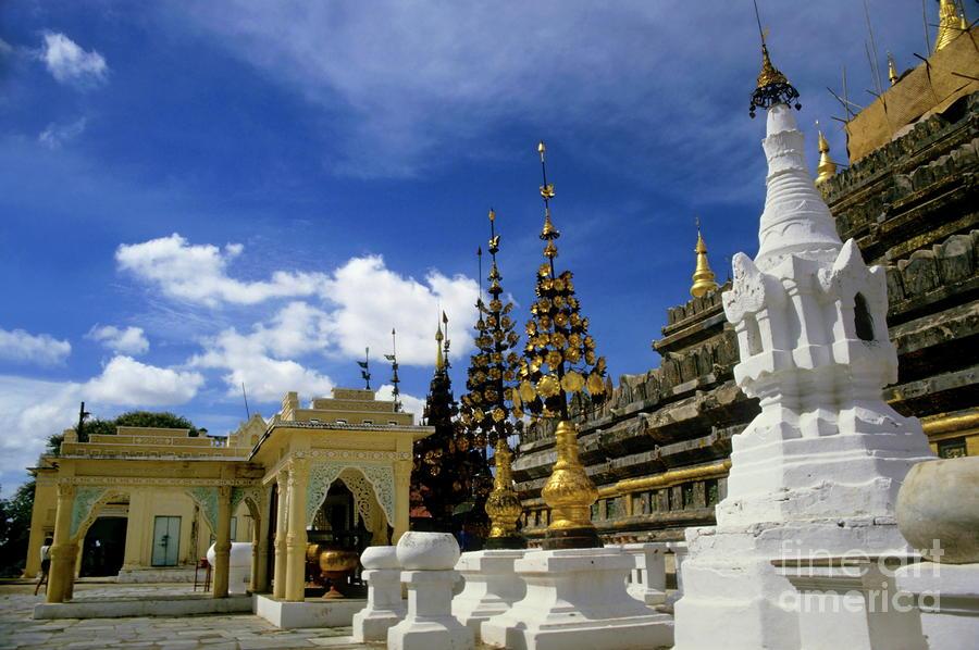Built Structures Inside Shwezigon Pagoda Photograph