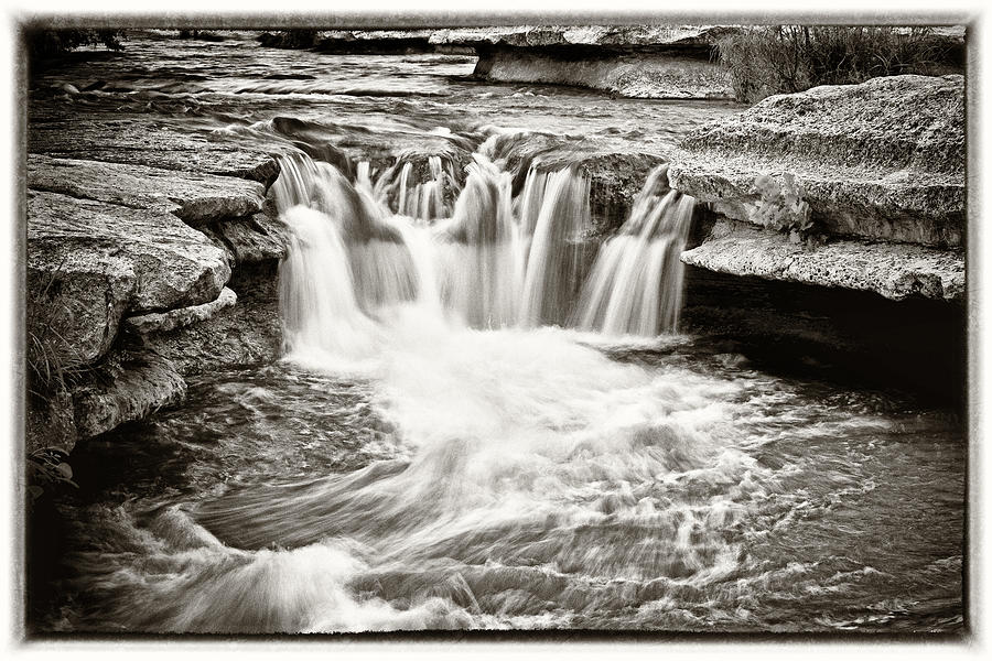 Bull Creek Water Run Photograph