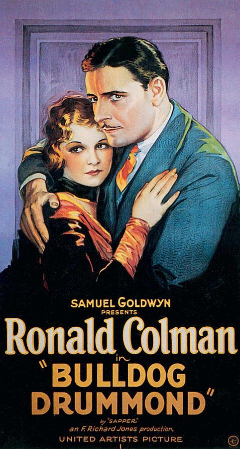 1920s Movies Photograph - Bulldog Drummond, Joan Bennett, Ronald by Everett