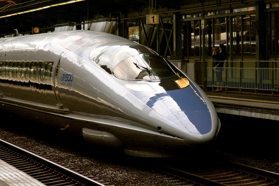 Bullet Train Photograph  - Bullet Train Fine Art Print