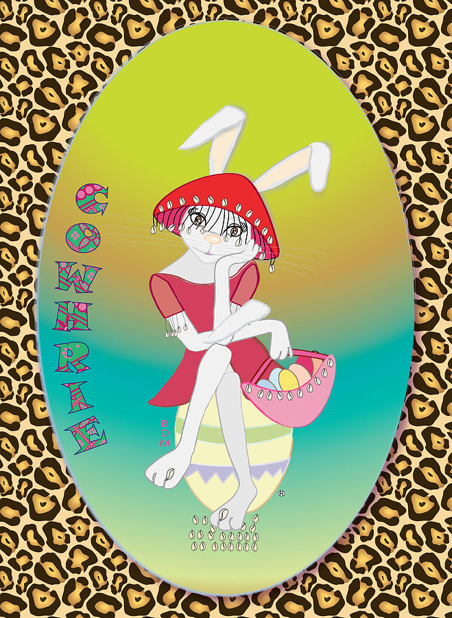 Bunnie Girls- Cowhrie- 3 Of 4 Digital Art