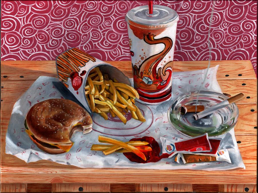 Burger King Value Meal No. 3 Painting