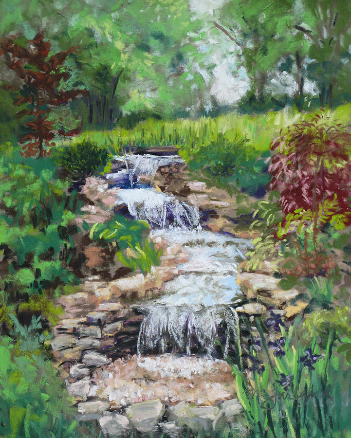 Burgess Water Garden Pastel