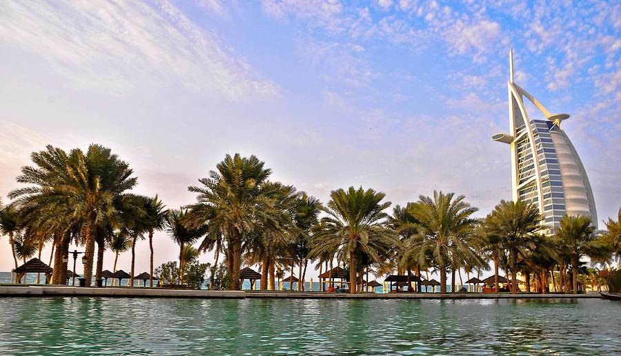 Burj Al Arab Dubai Uae Pyrography