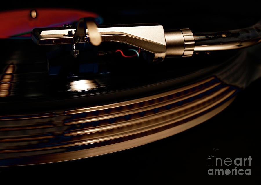 Burning Vinyl  Photograph