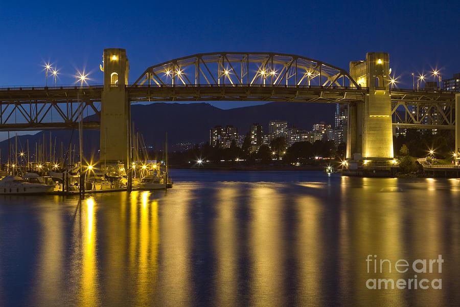 Burrard Street Bridge Vancouver Photograph