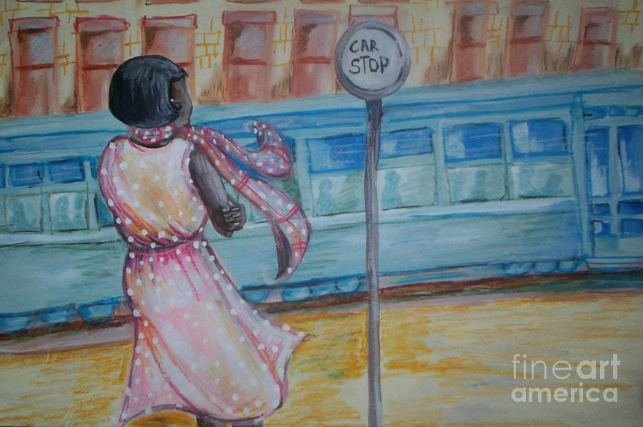 Bus Stop Painting