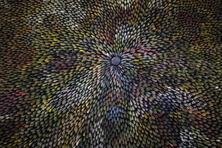 Bush Leaf Medicine Painting
