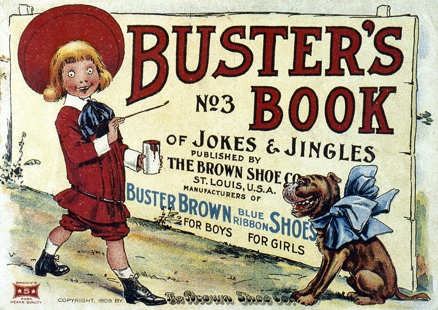 Buster Brown Book, 1905 Photograph