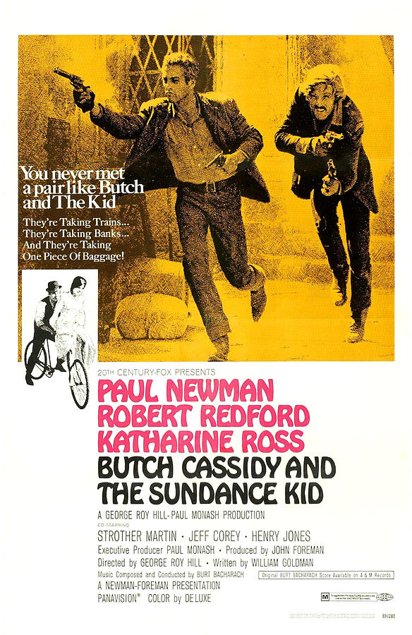 1960s Movies Photograph - Butch Cassidy And The Sundance Kid by Everett