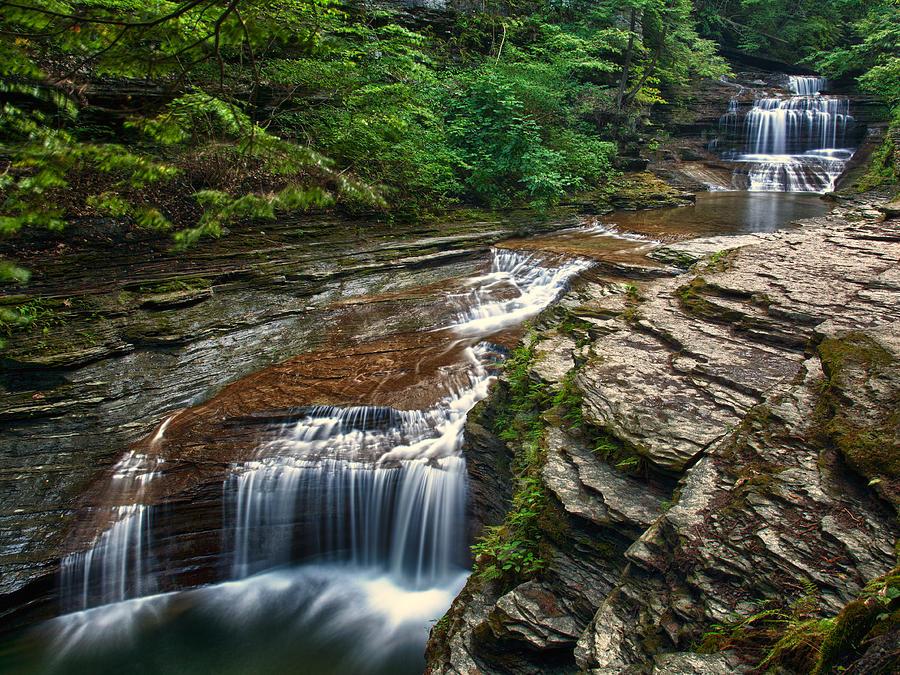 Butermilk Falls Photograph