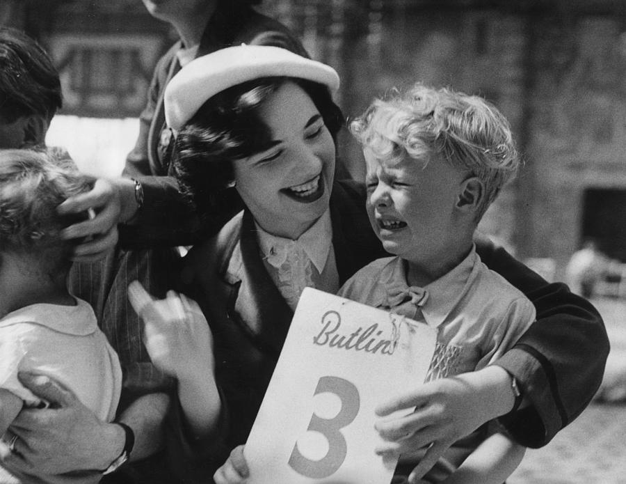 Child Photograph - Butlins Fun by Bert Hardy