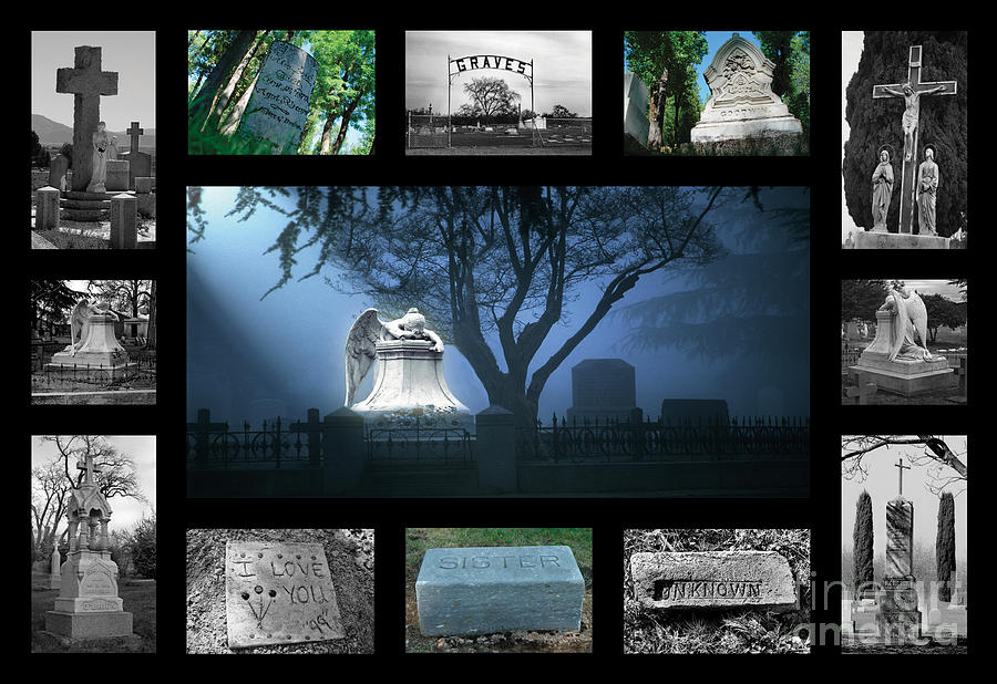 Butte County Cemeteries Photograph  - Butte County Cemeteries Fine Art Print