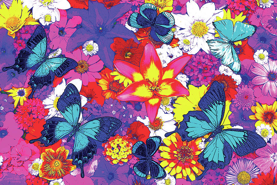 Butterflies And Flowers by JQ Licensing