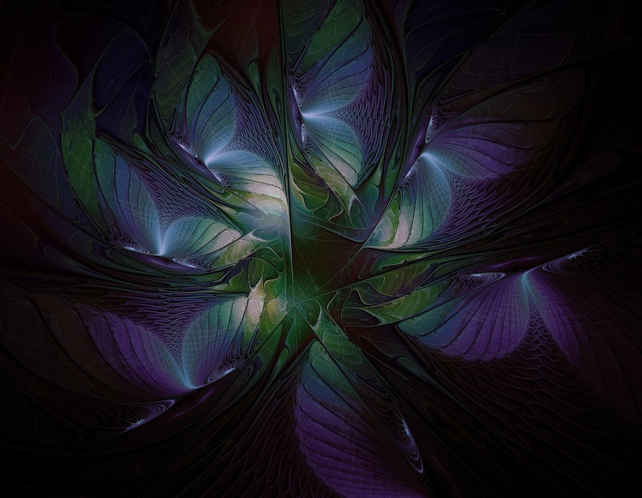 Digital Art Digital Art - Butterfly Ball by Amanda Moore