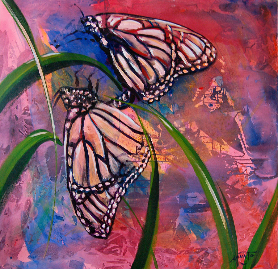 Butterfly Love Painting