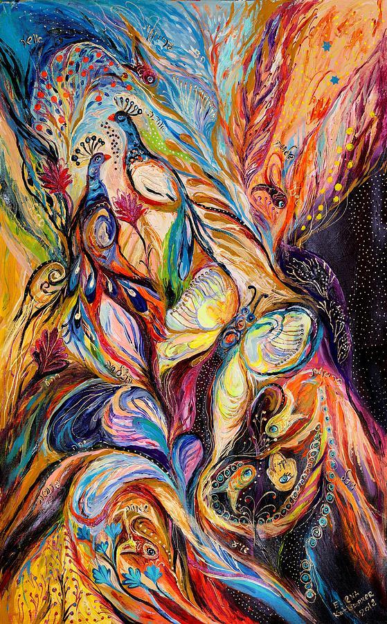 Butterfly On Wind ... Visit Www.elenakotliarker.com Painting