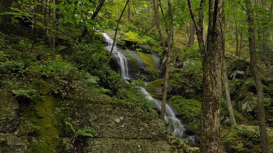 Waterfall Photograph - Buttermilk Falls - Tillmans Ravine by Stephen  Vecchiotti